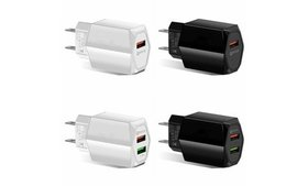 USB Quick Fast Charger Hub Wall Charger Power Adap