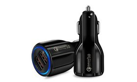 USB Fast Quick CAR Charger Adapter (16W / 5,9,12V