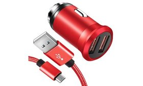 Samsung Galaxy S6 S7 Edge Note 4 5 USB Car Charger