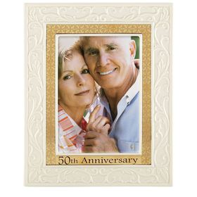 Lenox® 50th Anniversary Picture Frame - 5x7