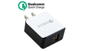 USB Wall Charger Fast Charge 3.0 Power Adapter For
