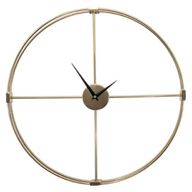 Propac Images® Gold Metro Clock Wall Décor