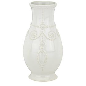 Lenox® French Perle White™ 8in. Fluted Vase