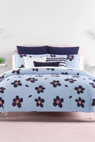 kate spade new york blue grand floral twin xl comf