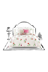 kate spade new york platinum floral willow court q