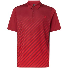 Oakley Ellipse Gradient Polo - Raspberry