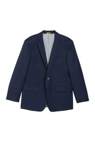 Brooks Brothers Wool Blend Notch Collar Double But