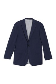 Brooks Brothers Solid Notch Collar Double Button J