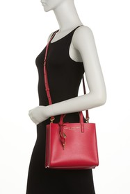 Marc Jacobs Mini Grind Coated Leather Tote