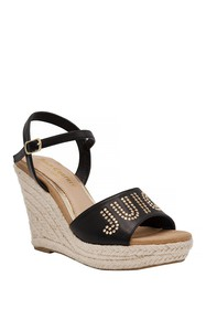 Juicy Couture Cristall Logo Espadrille Wedge Sanda