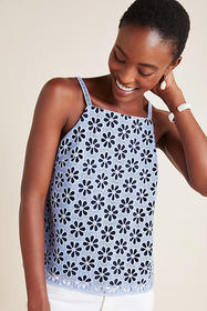 Anthropologie Quinn Textured Cami