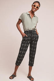 Anthropologie Suman Cropped Pants