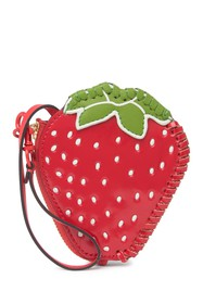 Tory Burch Fruit Coin Leather Pouch