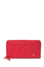 Tory Burch Fleming Leather Zip Continental Wallet