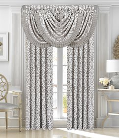 J. Queen New York Luxembourg Silver Window Treatme