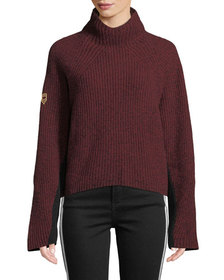 Zadig & Voltaire Lola Merino Wool Pullover Sweater