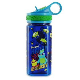 Disney Toy Story 4 Water Bottle with Built-In Stra