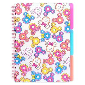 Disney Mickey and Minnie Mouse Donuts Notebook and