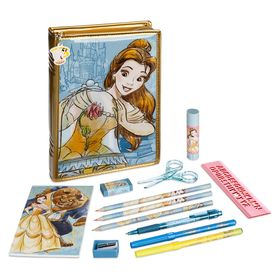 Disney Beauty and the Beast Zip-Up Stationery Kit