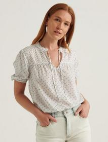 Lucky Brand Clara Short Sleeve Top