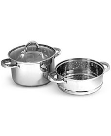 Stainless Steel 4-Qt. Multi Cooker with Glass Lid
