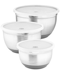 6-Pc. Non-Skid Bowls & Lids Set, Created for Macy'