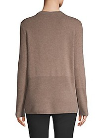 Cashmere Saks Fifth Avenue Ribbed Cashmere Pullove