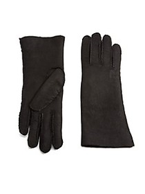 Saks Fifth Avenue Shearling Gloves