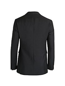 Burberry Mohair-Blend Tailored Jacket