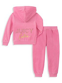 Juicy Couture Little Girl's 2-Piece Hoodie & Pants