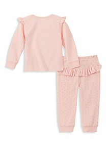 Juicy Couture Little Girl's Layette 2-Piece Logo S