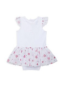 Juicy Couture Baby Girl's 2-Piece Skirted Sunsuit