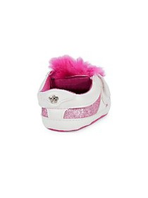 Juicy Couture Baby's Faux Fur-Trim Sneakers