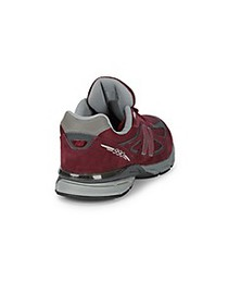 New Balance Baby's TD 990 Perforated Lace-Up Sneak