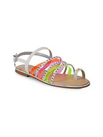 Juicy Couture Kid's Cambria Studded Strappy Sandal