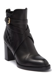 Burberry Vaughan Leather Quilted Bootie