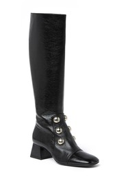 Burberry Aleigha Leather Boot