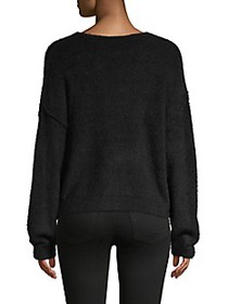 Free People Textured Stretch Sweater