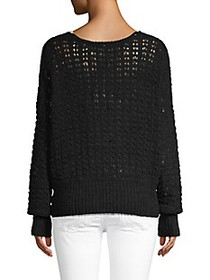 Free People Crochet Cotton-Blend Top