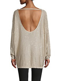 Free People All That Glitters Knit Tunic