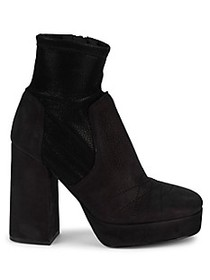 Free People Chunky Block Heel Booties