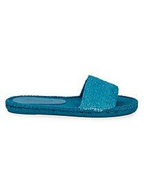 Free People Beach Front Braided Espadrille Slides