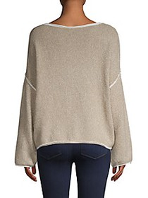 Free People Bardot Dropped Shoulder Sweater