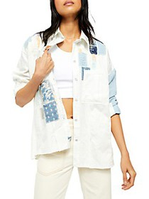 Free People Costa Ballena Button-Up Shirt