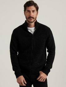 Lucky Brand Donegal Full Zip Mock Neck