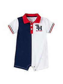 Tommy Hilfiger Baby Boy's Colorblock Playsuit
