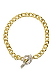 Savvy Cie CZ Cuban Link Necklace