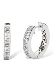 Savvy Cie Reversible Princess & Round Cut Crystal