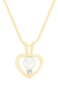 Savvy Cie 14K Yellow Gold Plated Freshwater Pearl