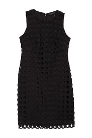 DKNY Eyelet Lace Shift Dress